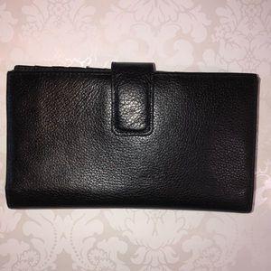 Danier Black Leather Wallet